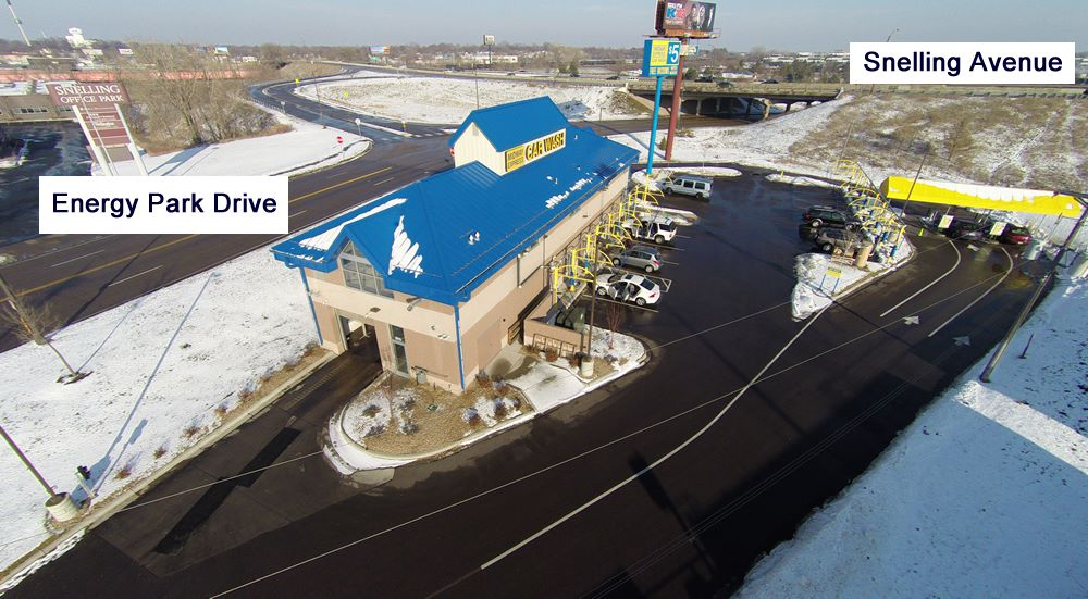 carwash construction metro express car wash in st paul minnesota